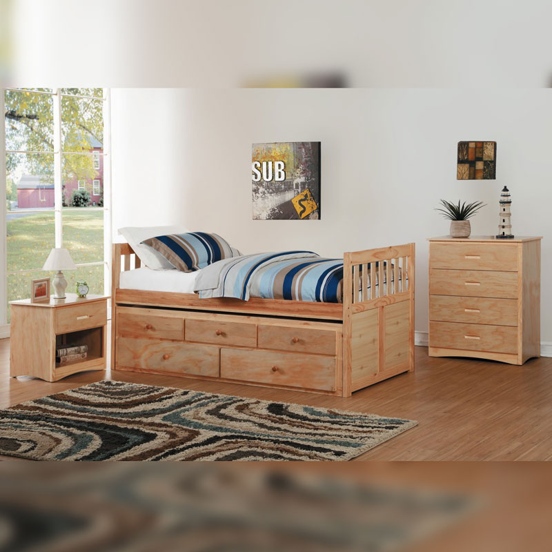 Oak Bunk Bed Collection